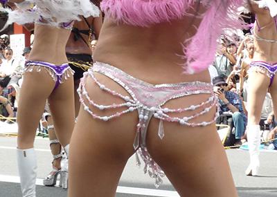 【サンバエロ画像】サンバといえばリオだけど、日本にもサンバ祭りはあるんだぜ!