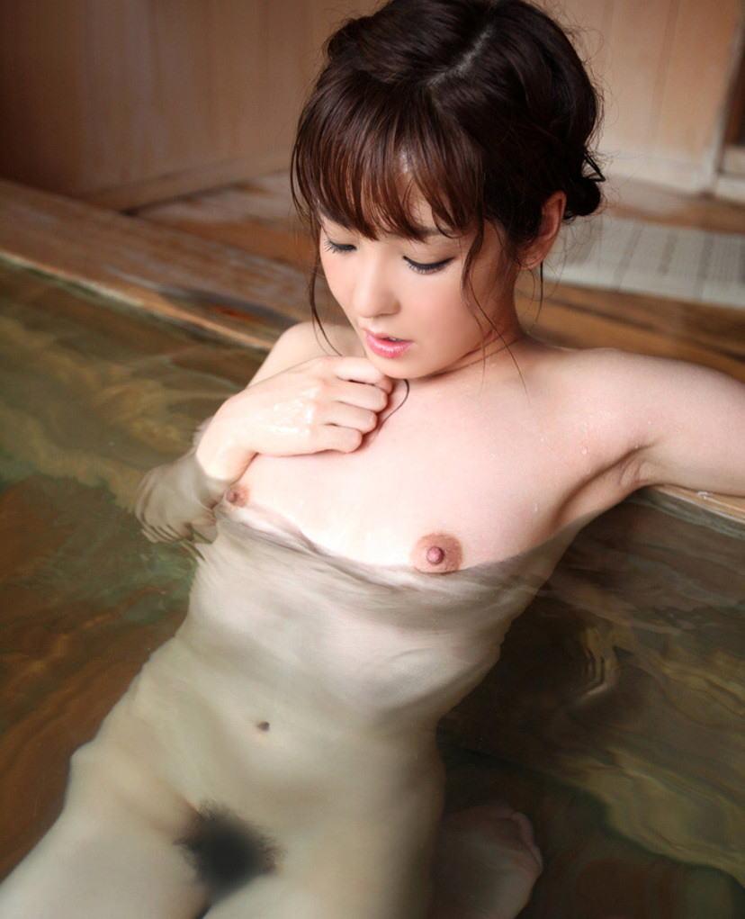 【入浴エロ画像】女の子が全裸で入浴している姿がグゥ!ヌケる!ww 05