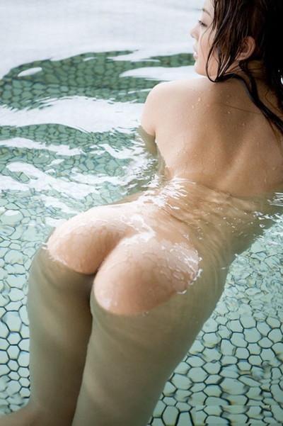 【入浴エロ画像】女の子が全裸で入浴している姿がグゥ!ヌケる!ww 18