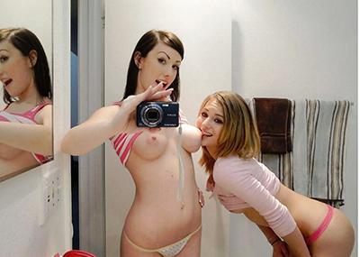 【海外自撮りエロ画像】海外女性の自撮り画像がめっちゃシコなんだが!?