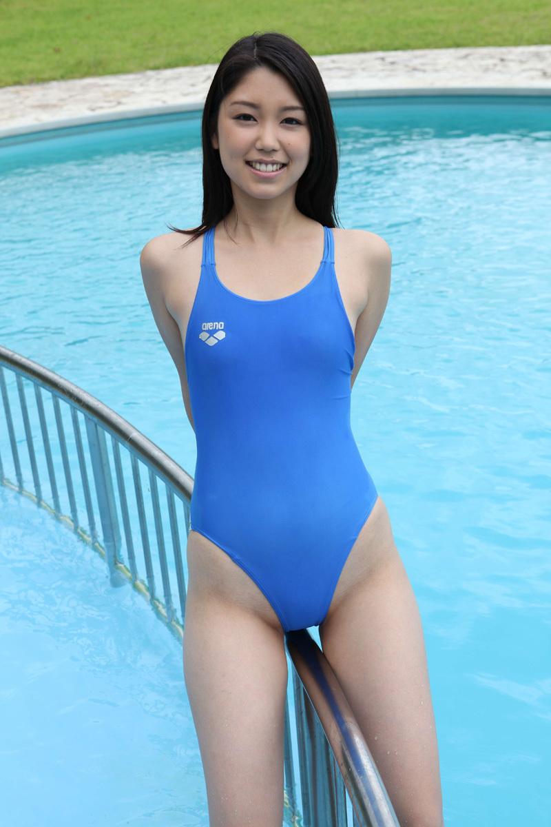 【競泳水着エロ画像】おまいら!油断するなよ!競泳水着ってエロいんだぜ! 17
