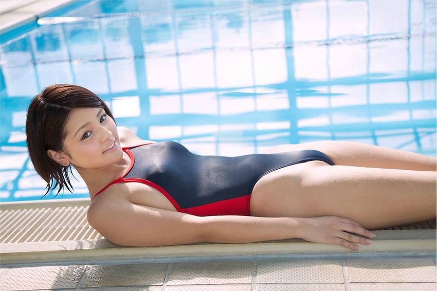 【競泳水着エロ画像】おまいら!油断するなよ!競泳水着ってエロいんだぜ! 30