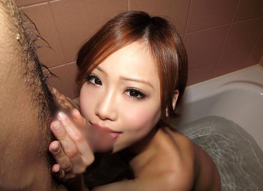 【フェラチオエロ画像】女の子からの奉仕プレイといえばやっぱりフェラだろ! 32