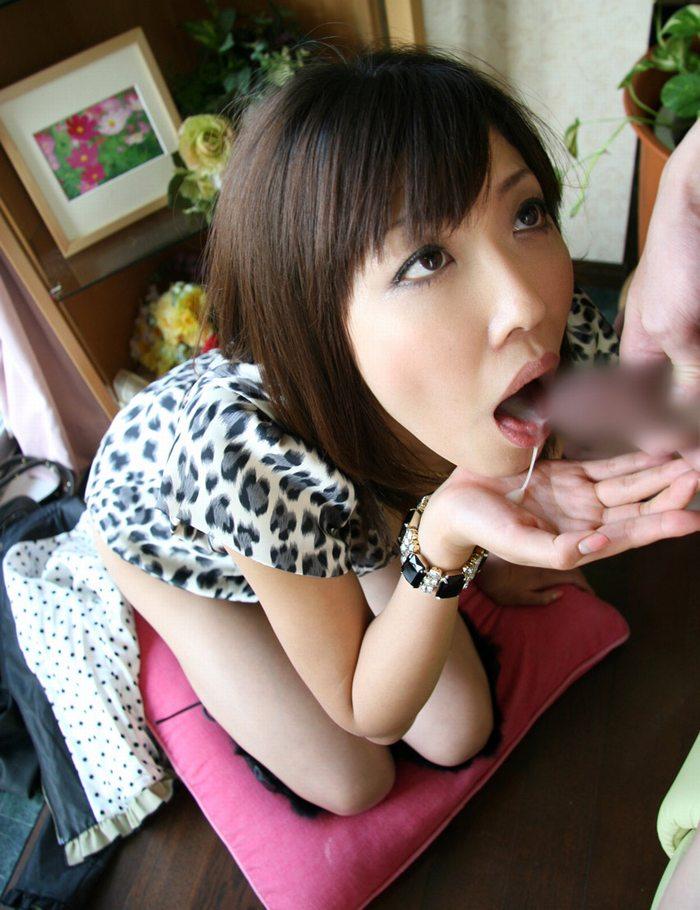 【フェラチオエロ画像】女の子からの奉仕プレイといえばやっぱりフェラだろ! 45