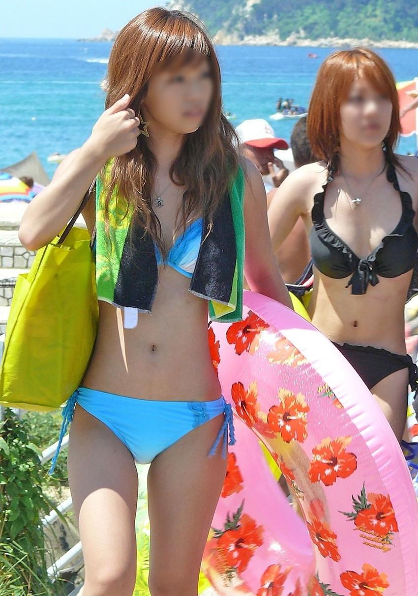 【素人水着エロ画像】素人娘たちのプライベート水着ショット満載! 38