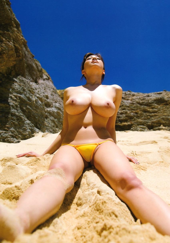 【RIONエロ画像】雰囲気のある顔立ちに美爆乳で大人気のAV女優RION! 02