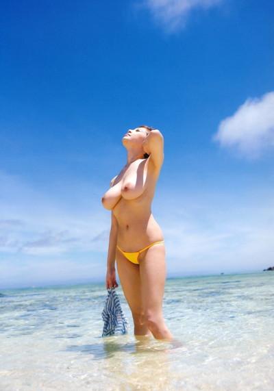 【RIONエロ画像】雰囲気のある顔立ちに美爆乳で大人気のAV女優RION! 62