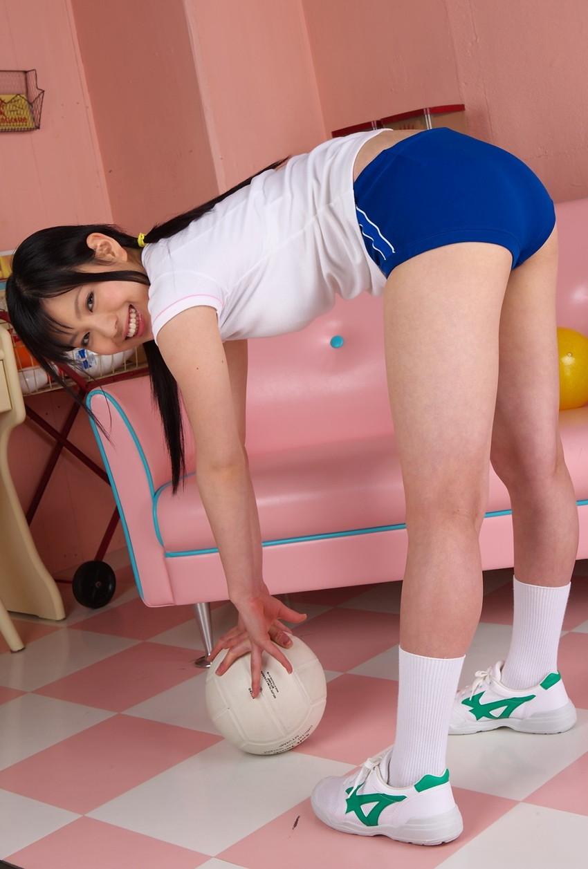 【ブルマエロ画像】大人気コスプレ姿!ブルーマを履いた美女たちがエロ可愛いw(50枚) 17