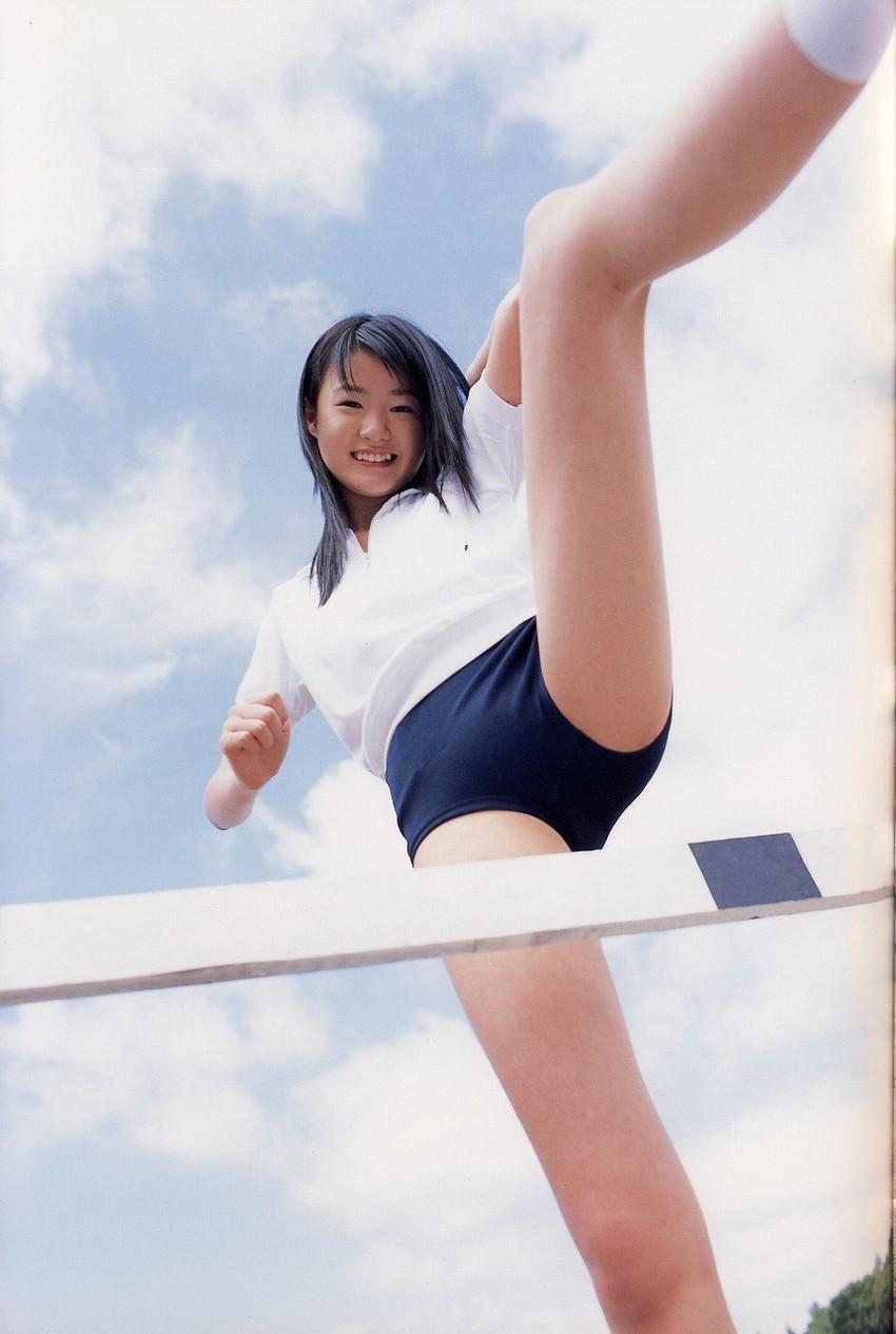 【ブルマエロ画像】大人気コスプレ姿!ブルーマを履いた美女たちがエロ可愛いw(50枚) 22