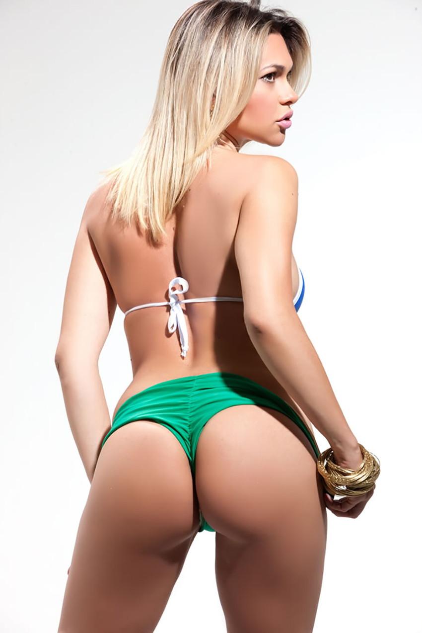 【海外美尻エロ画像】プリンプリンの海外女性の美尻特集してみたぞwww 11