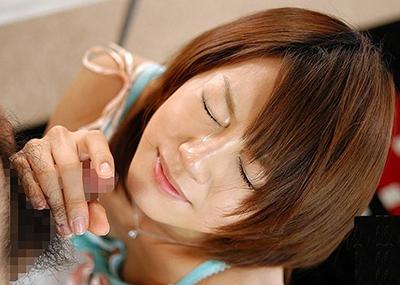 【顔射エロ画像】女の子の顔にフィニッシュするという満足感が堪らない顔射