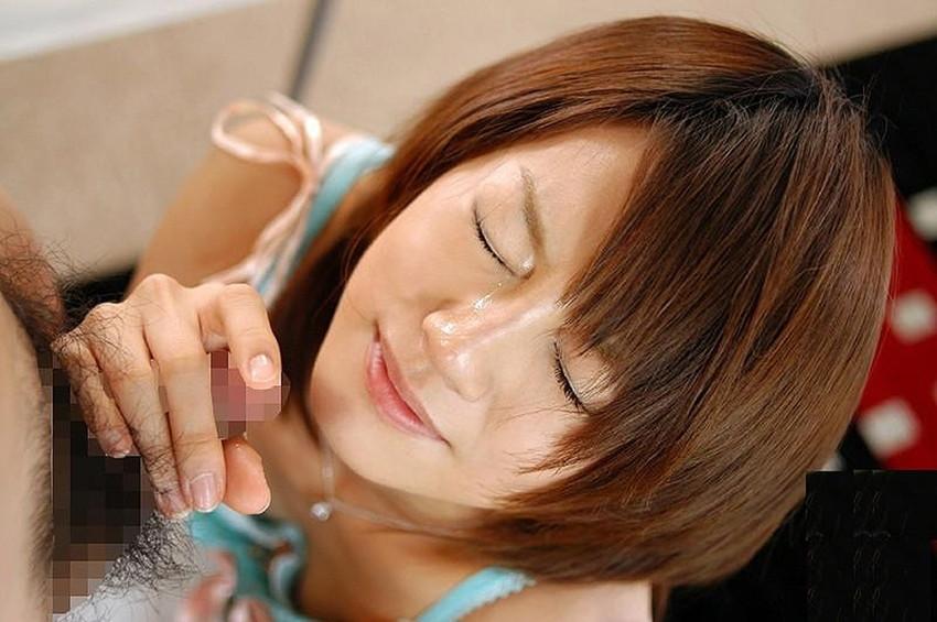 【顔射エロ画像】女の子の顔にフィニッシュするという満足感が堪らない顔射 05