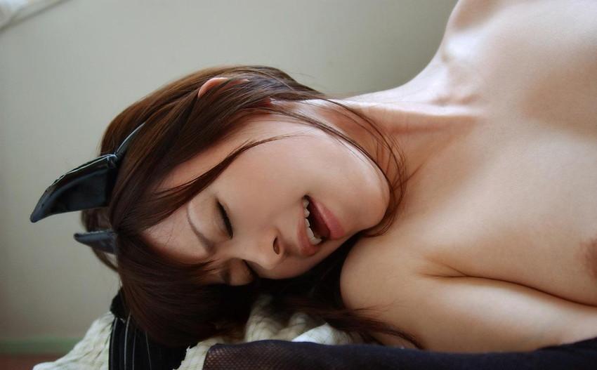 【悦顔エロ画像】セックスの最中、表情を悦に染める女たちにフル勃起確定! 39