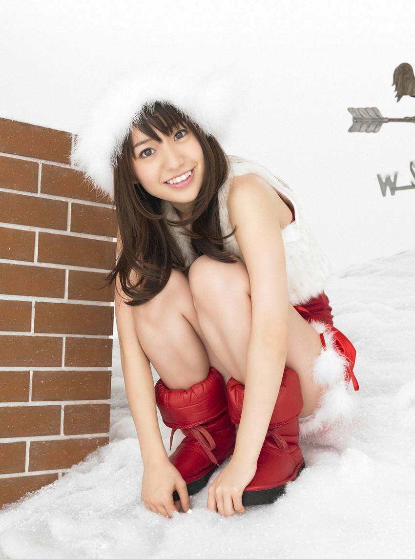 【サンタコスプレエロ画像】こんなサンタがプレゼントもってきてくれたら勝ち組決定! 33