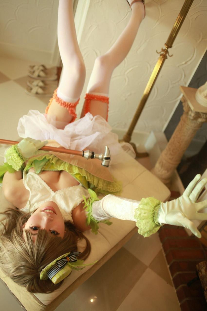 【アニコスエロ画像】過激なアニメキャラの衣装を3次元女性が着たらこうなった! 39