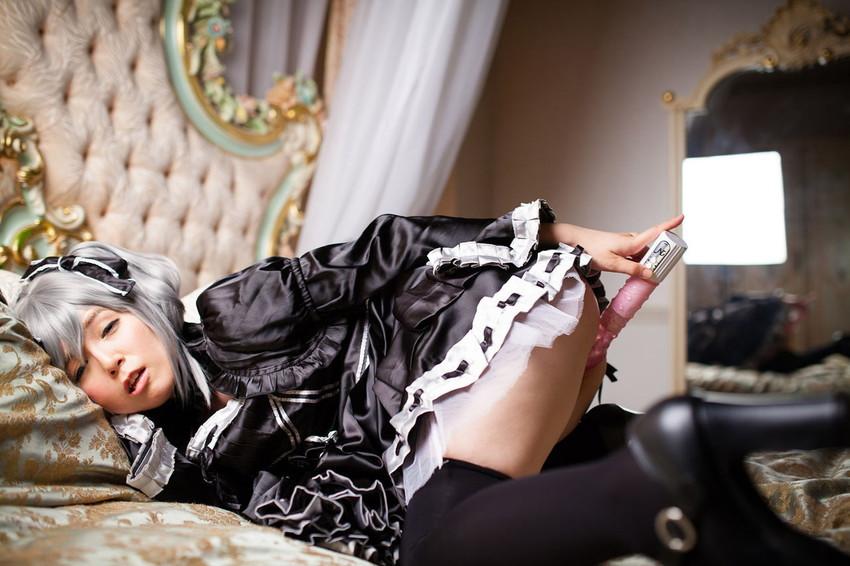 【アニコスエロ画像】過激なアニメキャラの衣装を3次元女性が着たらこうなった! 50