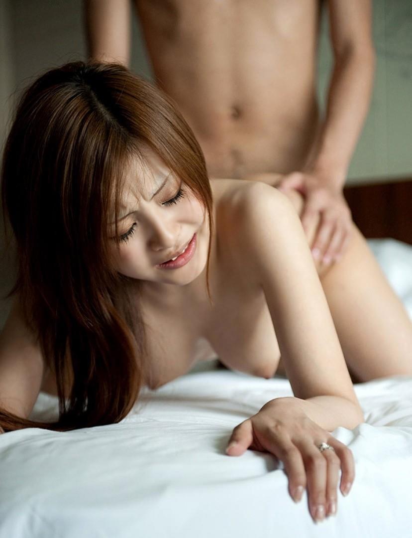 【バックエロ画像】バックでセックスするカップルの画像がめっちゃシコだな! 28