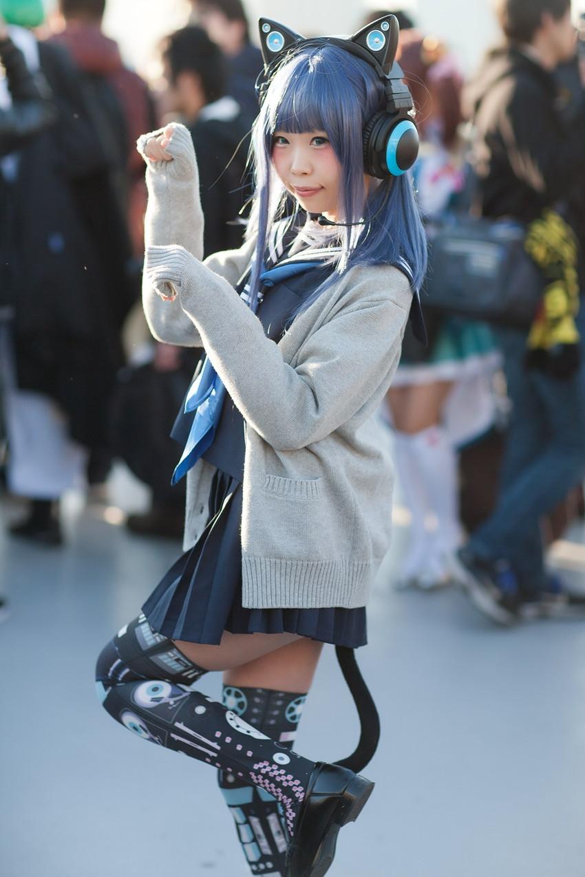 【コミケエロ画像】生で見たい!コミケというイベントの過激コスプレイヤー! 46