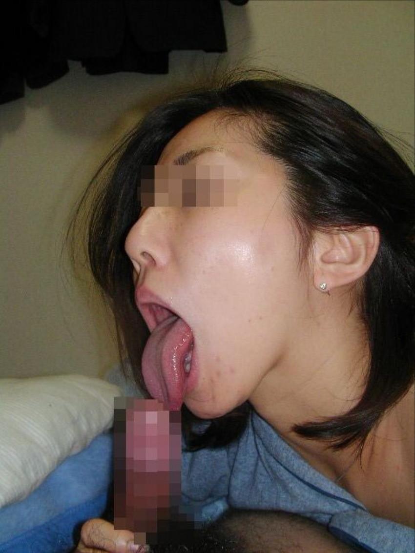 【素人フェラチオエロ画像】素人娘たちの生々しいフェラシーンがめっちゃシコッ! 27