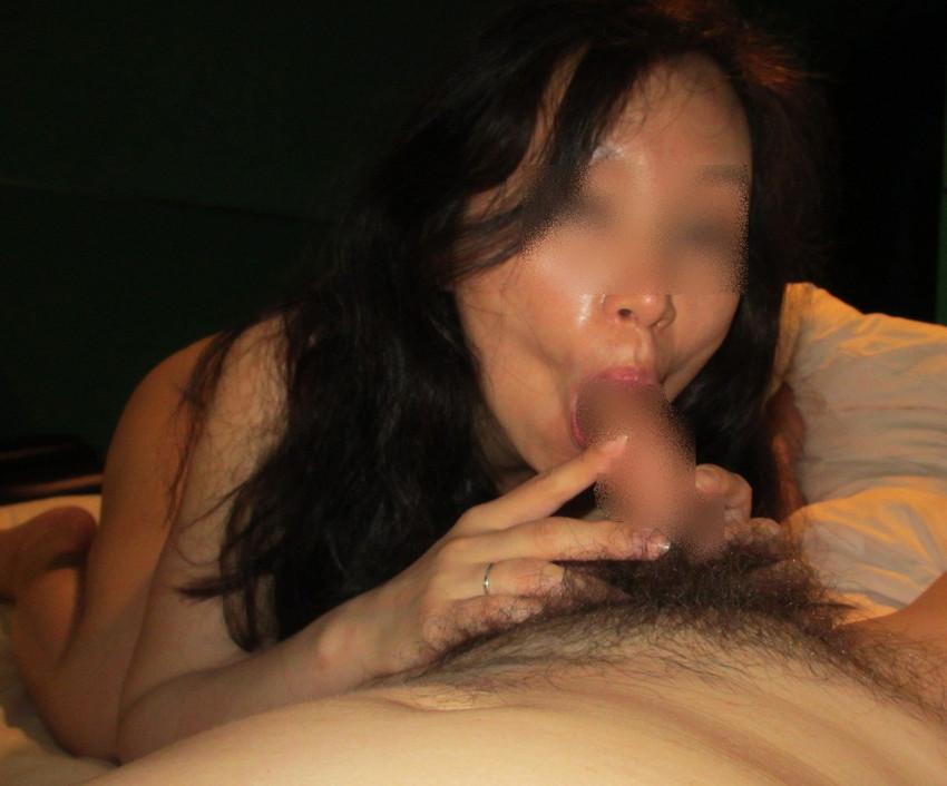 【素人フェラチオエロ画像】素人娘たちの生々しいフェラシーンがめっちゃシコッ! 31