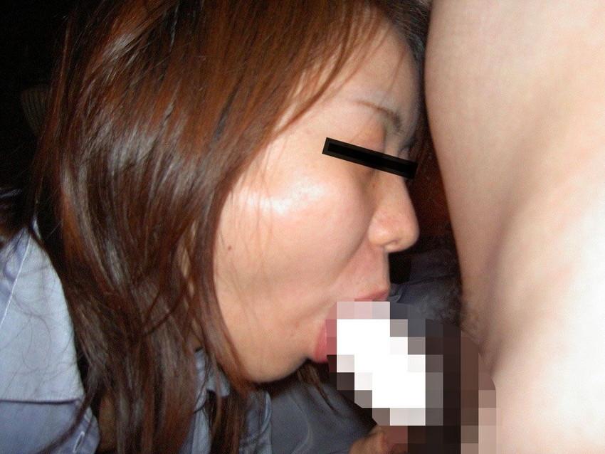 【素人フェラチオエロ画像】素人娘たちの生々しいフェラシーンがめっちゃシコッ! 37