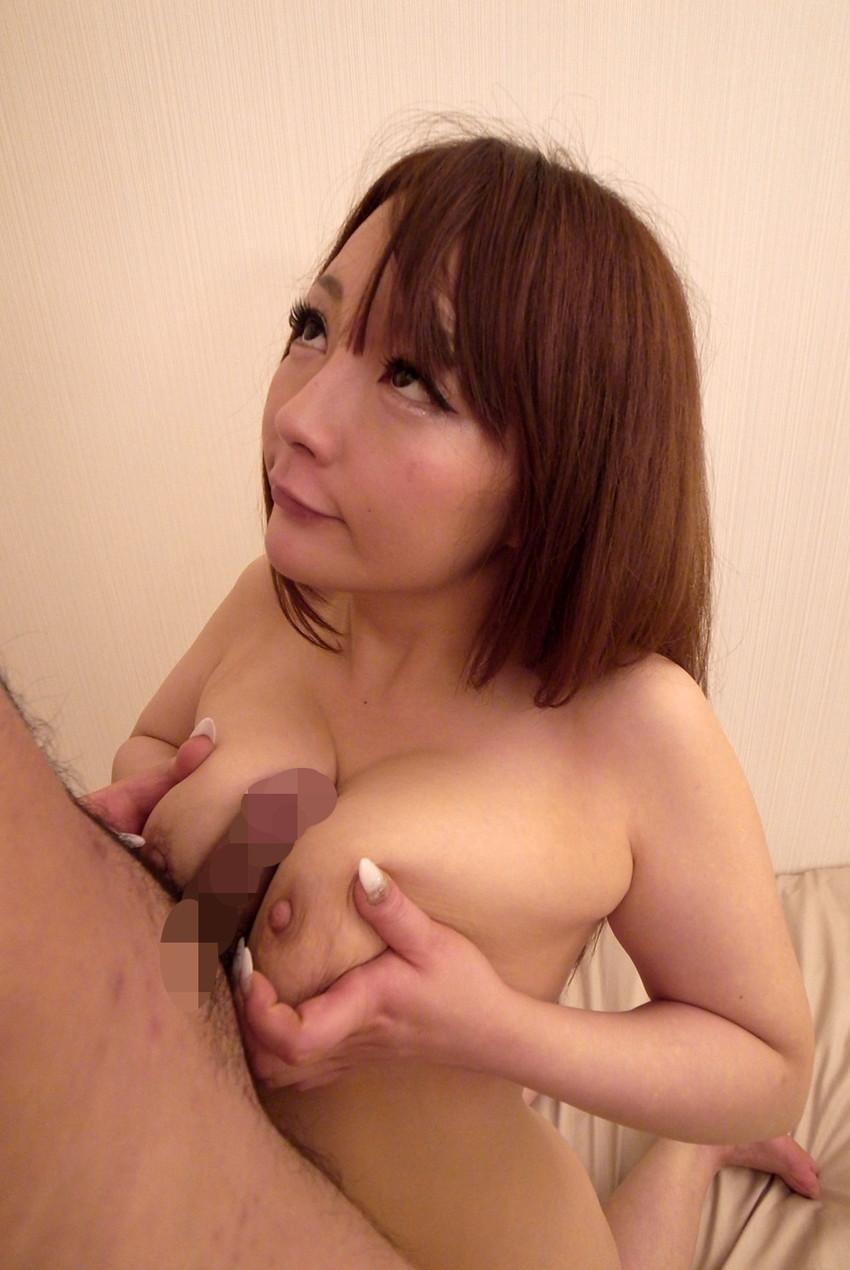 【パイズリエロ画像】巨乳の彼女とホテルにいった結果、やっぱりこうなったw 11